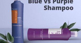 Blue vs purple shampoo