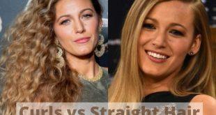 Curls vs straight air