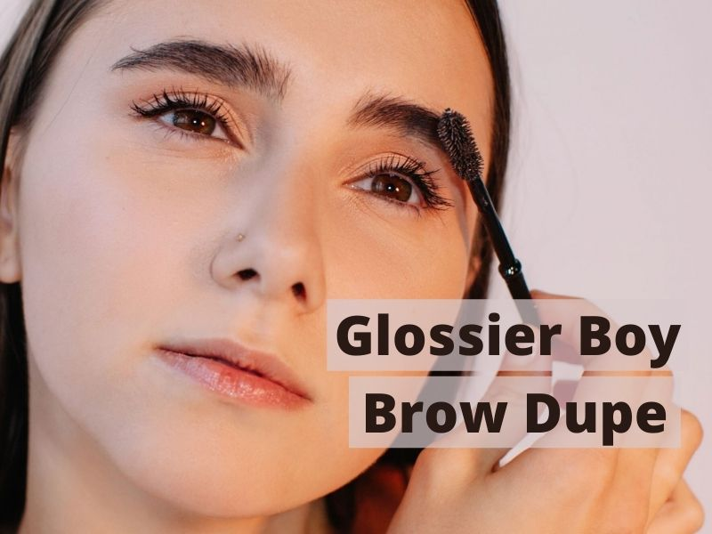 Glossier boy brow dupe