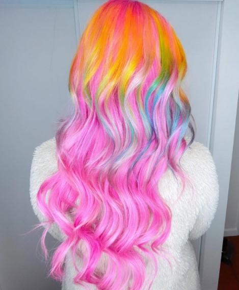 Rainbow ombré